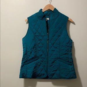 Talbots Fleece Lined Vest